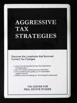 Aggressive Tax Strategies